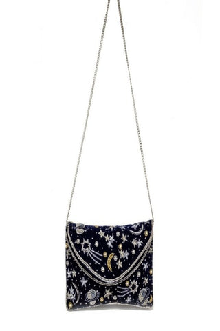 Ashiana Beaded Merlin Clutch