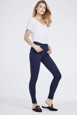 Dark Blue High Waisted Jeans