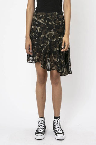 Religion Camouflage Skirt