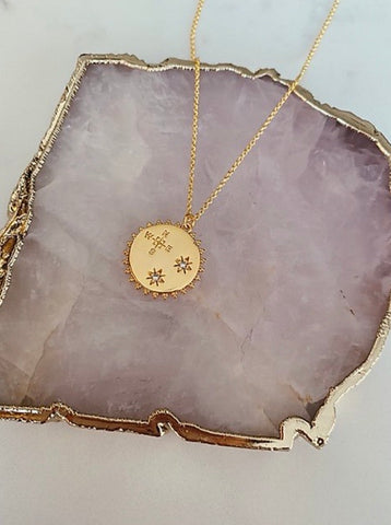 Gold Reversible Free Spirit Necklace