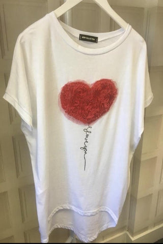 Tulle Heart T-Shirt