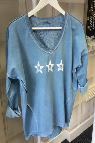 Star M Top Blue