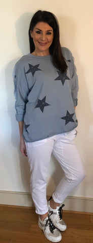 Cotton Star Sweatshirt