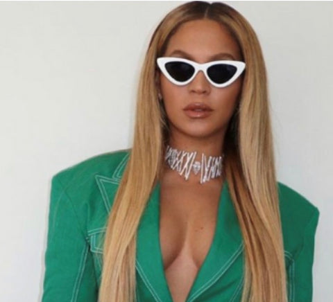 Beyoncé Cateye (White)