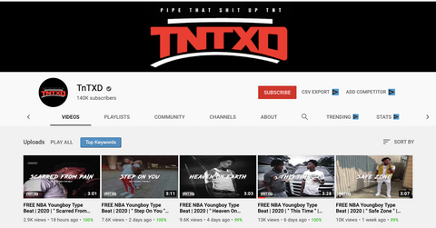 TNTXD YouTube Channel