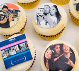 Branded Cupcakes & Corporate Selfie Cupcakes