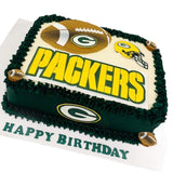 Green Bay Packers Cake
