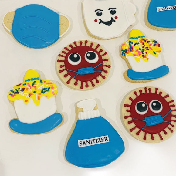 Quarantine Birthday Cookies
