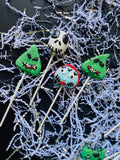 12 Nightmare Before Christmas Cake Pops