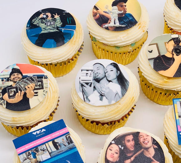 edible picture cupcakes