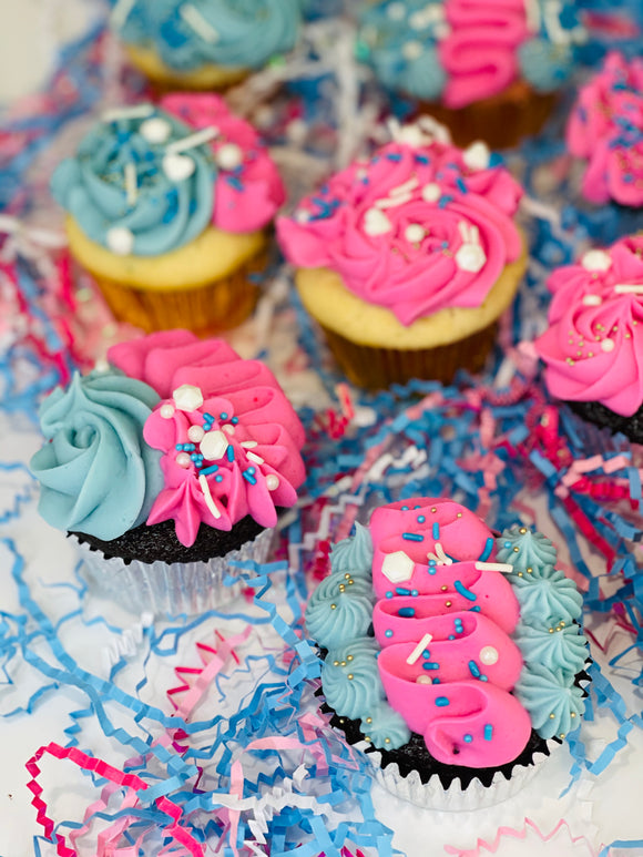 Gender Reveal Cupcakes, cupcakes near me