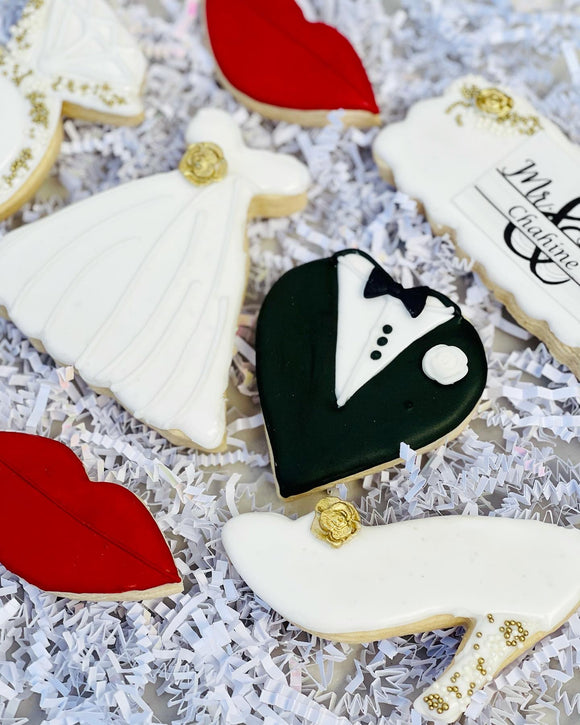 Bridal Shower Cookie Box