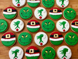 The Grinch Sugar Cookies