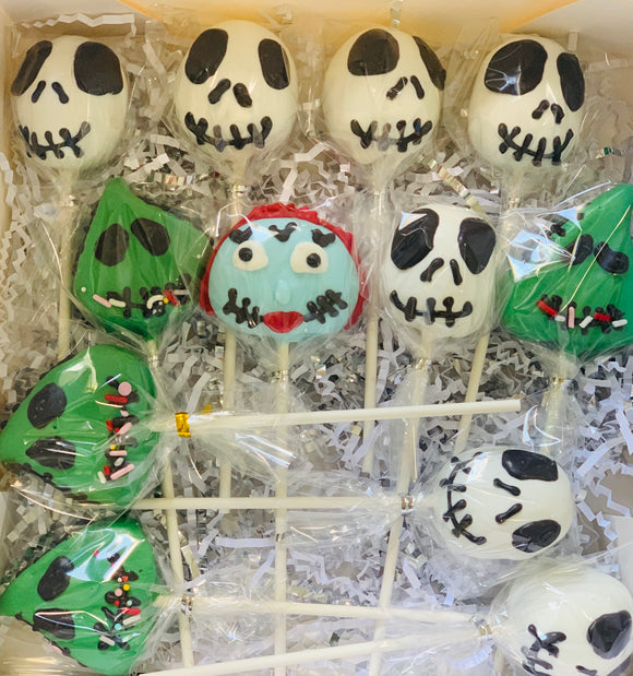 Nightmare cake pops, nightmare before christmas cake pops, best cake pops in la
