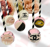 Luxury Brand Cake Pops Favors