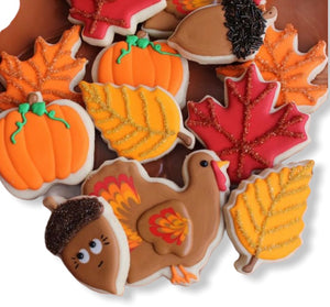 thanksgiving sugar cookies, cookies near me, cookies in la