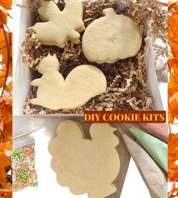 Thanksgiving DIY Cookie Kit
