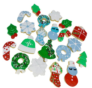 christmas sugar cookies, holiday box, treats, cookies in la, best gift, holiday