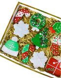 merry christmas cookie box