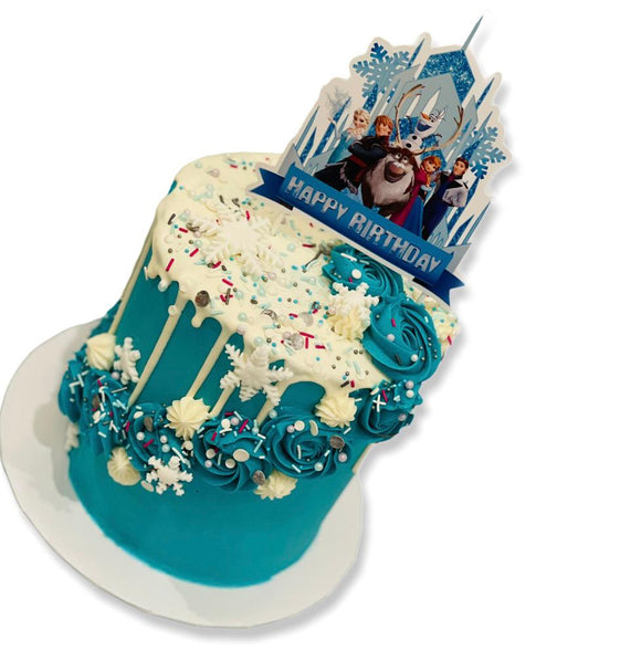 disney frozen birthday cake, elsa cake