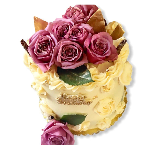 Bouquet Birthday Cake