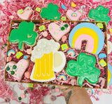 lucky charm sugar cookies