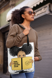 Curly Crew Reusable Tote Bag