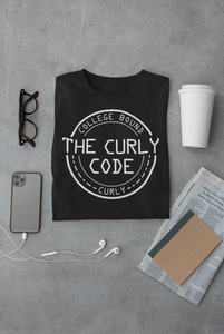 Curly (Crew) Neck Short-Sleeve T-Shirt