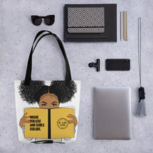 Load image into Gallery viewer, Curly Crew Reusable Tote Bag