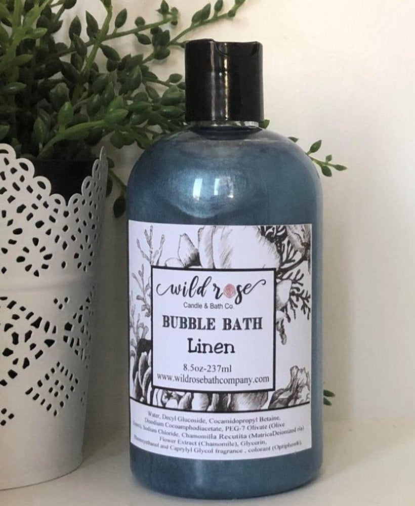 Bubble Bath Linen