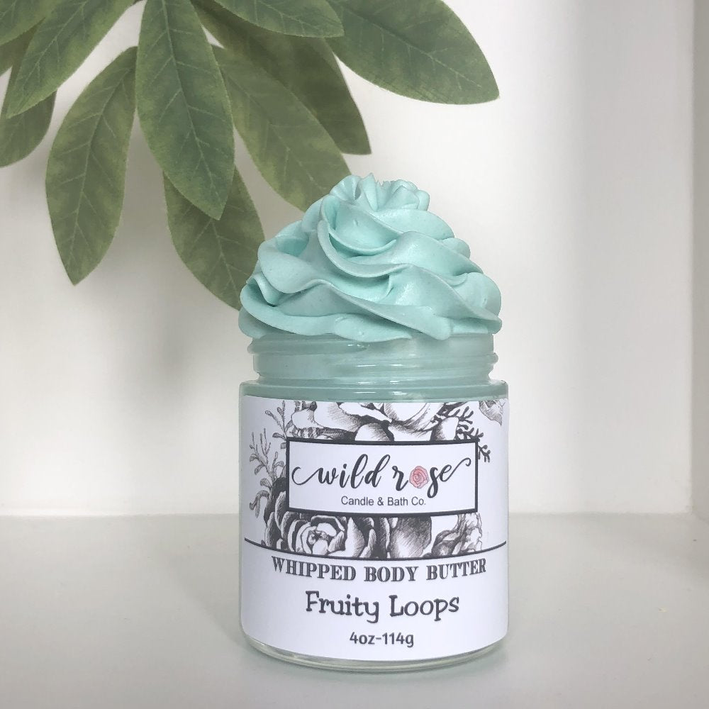 Body Butter Basil Pear