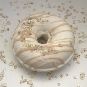 Load image into Gallery viewer, Bath Bomb Doughnut - Oatmeal Honey