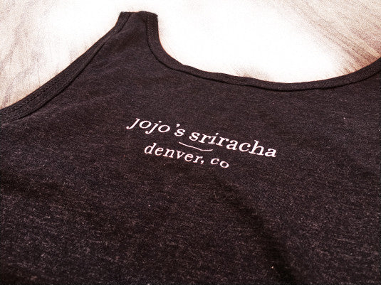 mission statement tank - charcoal triblend