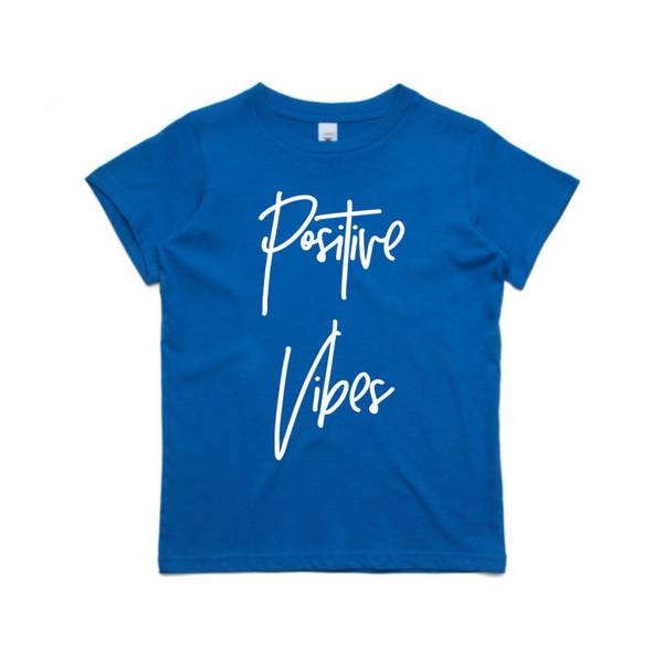 Positive Vibes - Kid's Tee