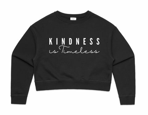 Crop Sweater Of The Month (MARCH) - Kindness Is Timeless