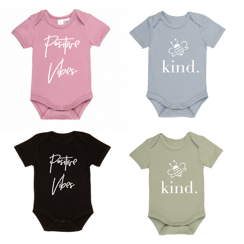 Baby Onesies - Various Colours/Designs