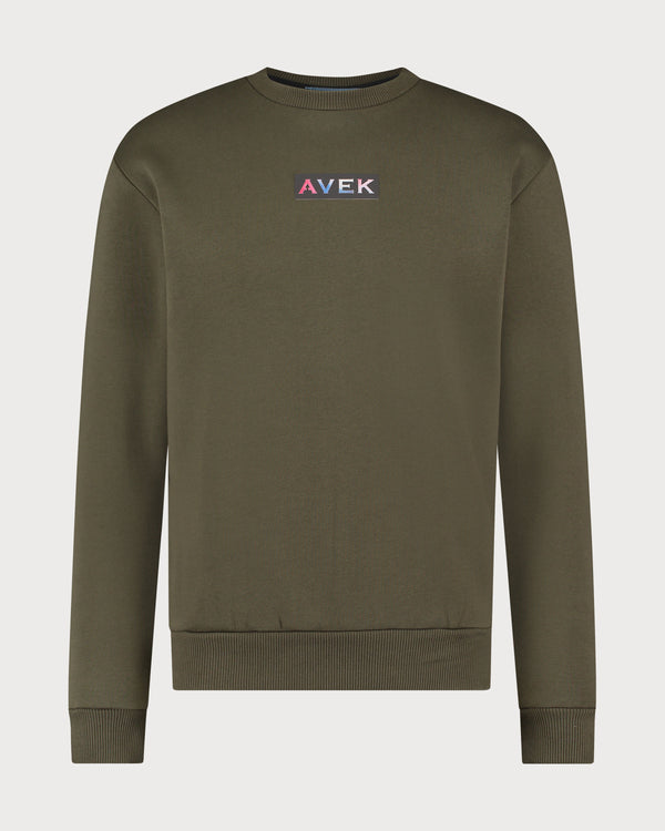 Color Sweater - Olive Green