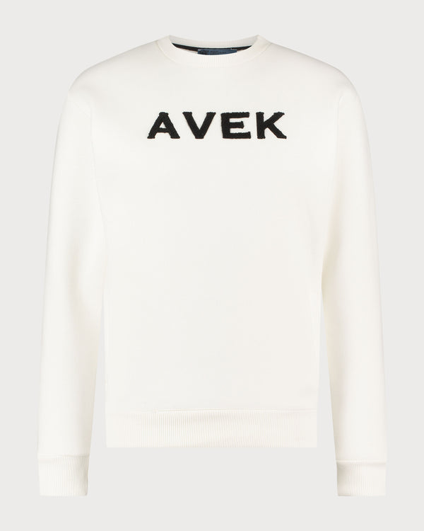 Embroidered Sweater - Off White