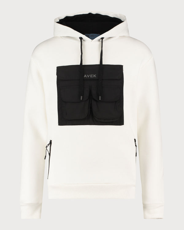 Pocket Hoodie - Off White