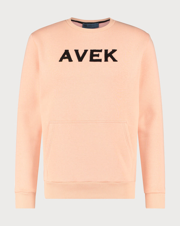 Embroidered Sweater - Peach
