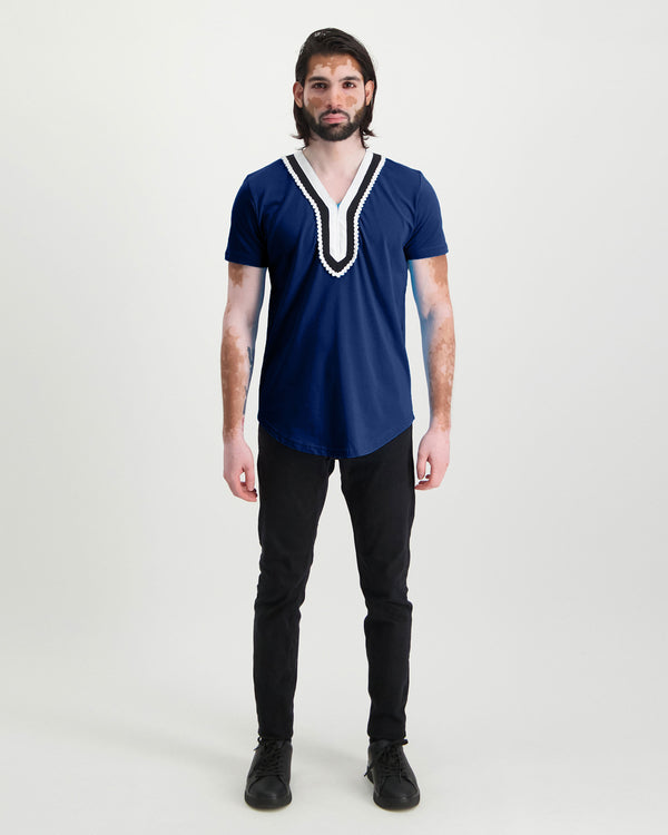 Traditional Tee - Blue