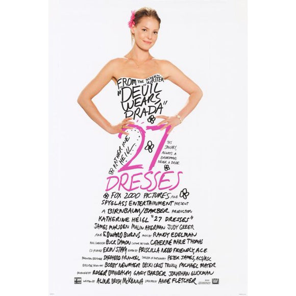 27 DRESSES        (SLIGHT CREASING)