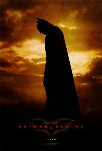 BATMAN BEGINS (STYLE D)    SLIGHT CREASING