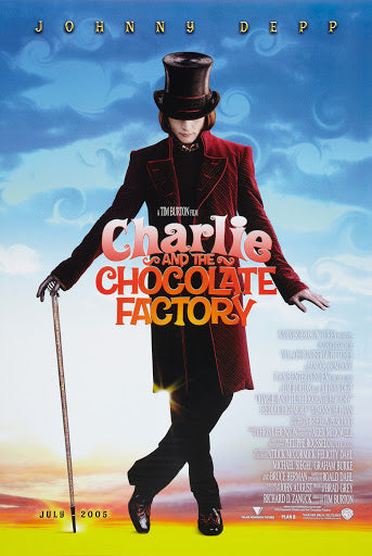 CHARLIE AND THE CHOCOLATE FACTORY  (STYLE B)