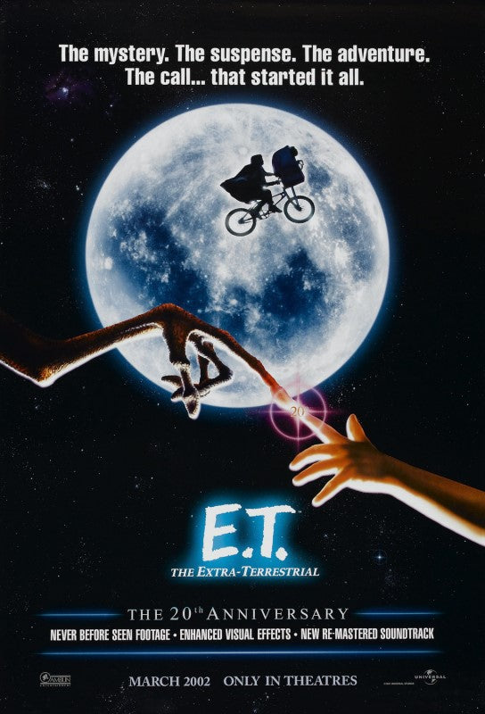 E.T. THE EXTRA TERRESTRIAL     (SLIGHT EDGE WEAR)