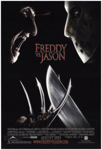 FREDDY VS JASON     (STYLE B)    CREASED