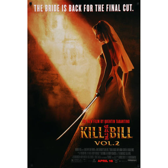 KILL BILL VOL 2        (SLIGHT CREASES)