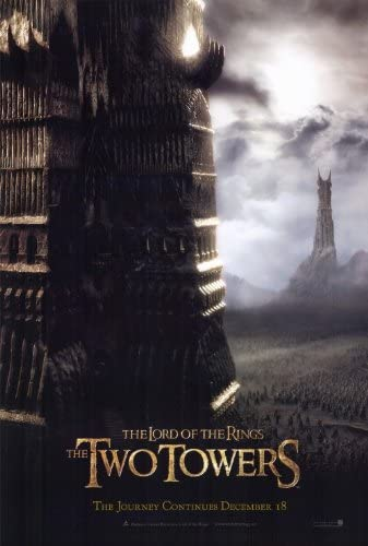 LORD OF THE RINGS  TWO TOWERS    (STYLE B)