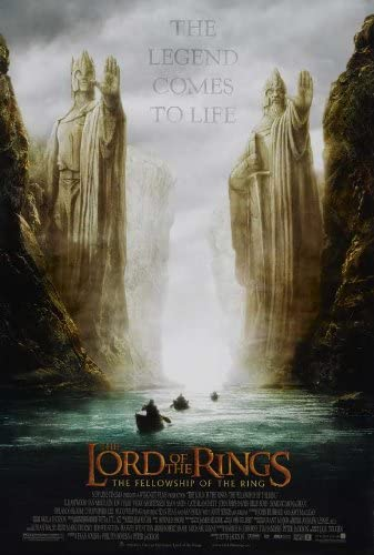 LORD OF RINGS    THE FELLOWSHIP OF THE RING     (STYLE B)