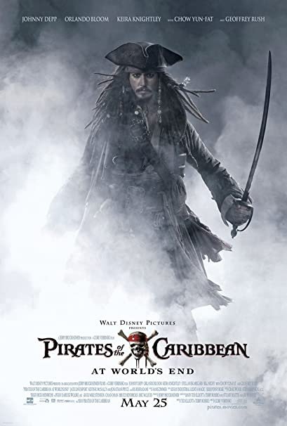 PIRATES OF THE CARIBBEAN   (AT WORLDS END)